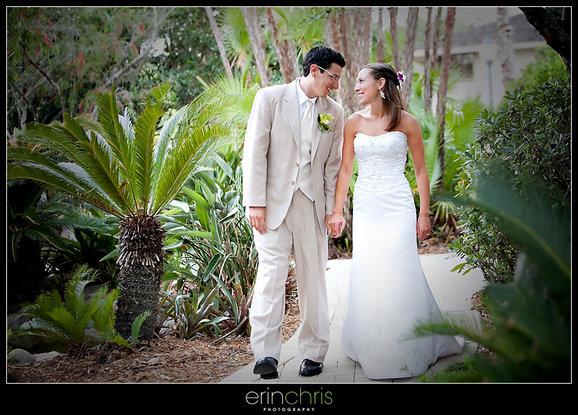 Wedding picture at Saddlebrook Resort