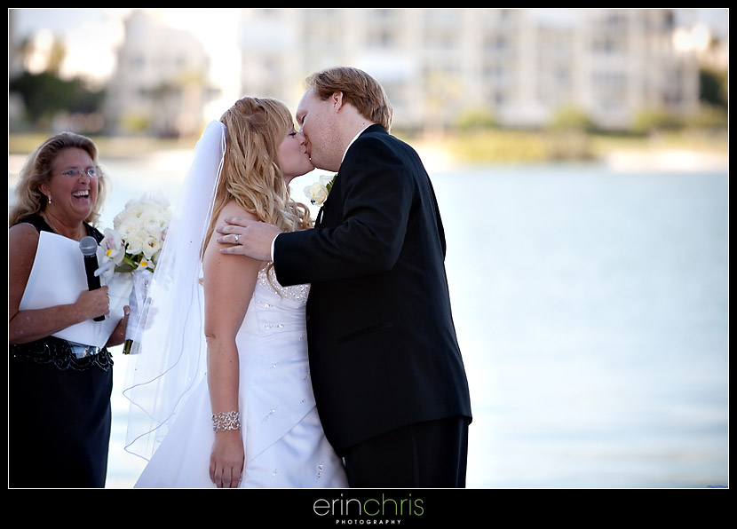 First Kiss St Petersburg Wedding