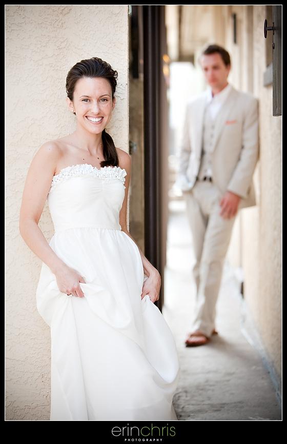 Urban Wedding Photo on Clearwater Beach