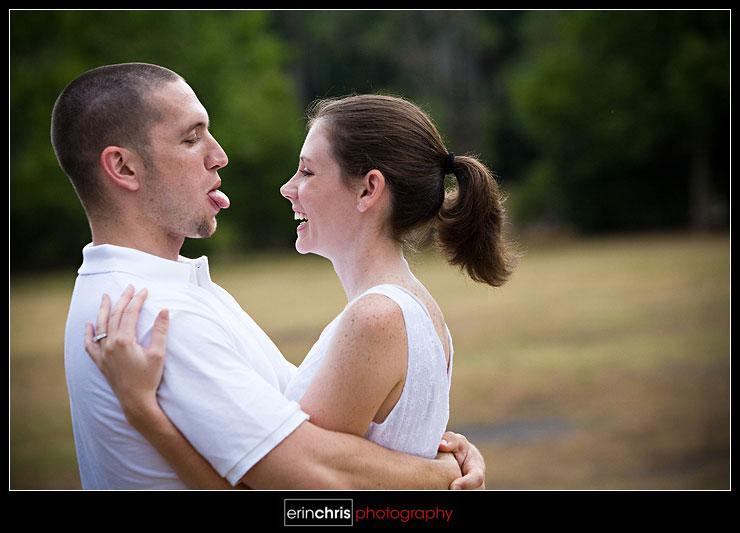 Engagement Photo - Philippe Park
