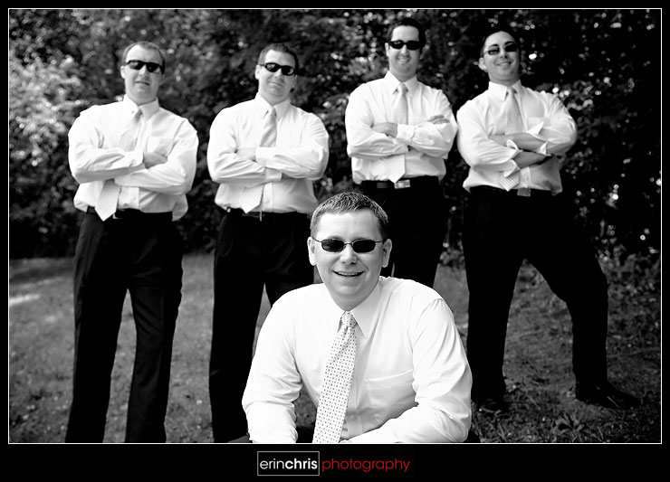 Wedding Photography Shot - Groomsmen Photo