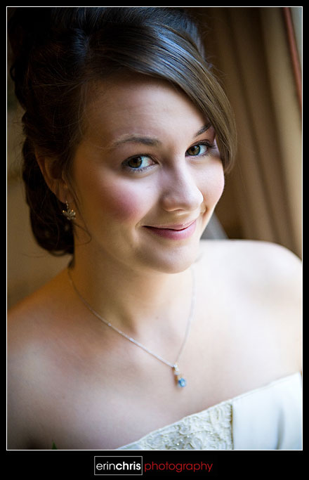 Tennessee Bridal Portrait with Window Light
